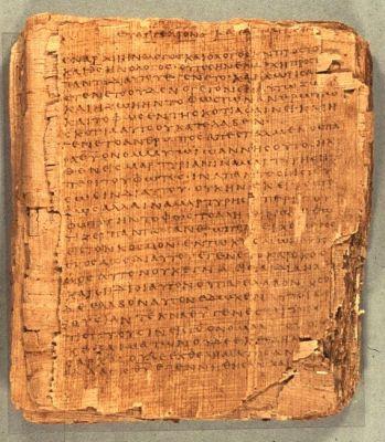 """Kodeks papirusowy """"Bodmer II"""" z greckim tekstem"""
